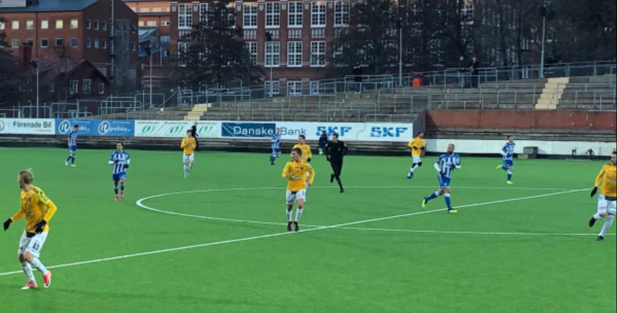 FFF imponerade mot Blåvitt