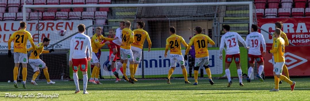 0-2-förlust mot Fredrikstad