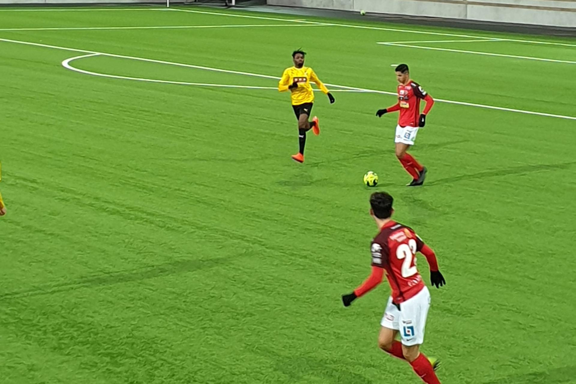 U21 stod upp bra mot BK Häcken