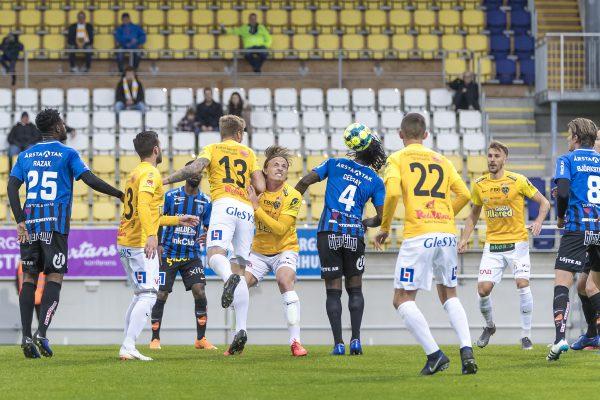 Falkenberg möter Sirius FK på Falcon Alkoholfri Arena  Foto: Glenn T Unger Falkenberg 2019-04-24 Allsvenskan med Falkenbergs FF och Sirius FK :