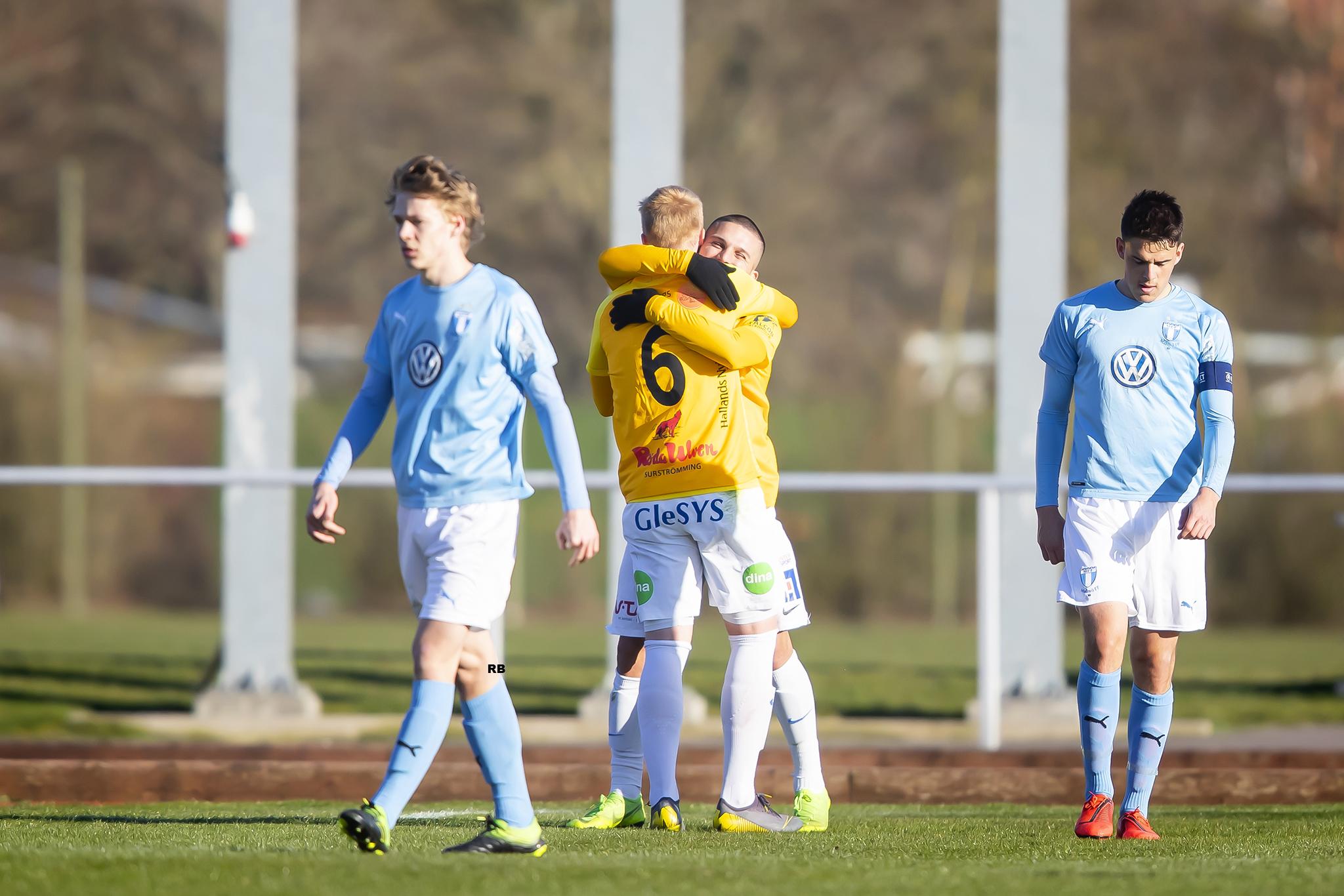 Seger mot MFF för U21
