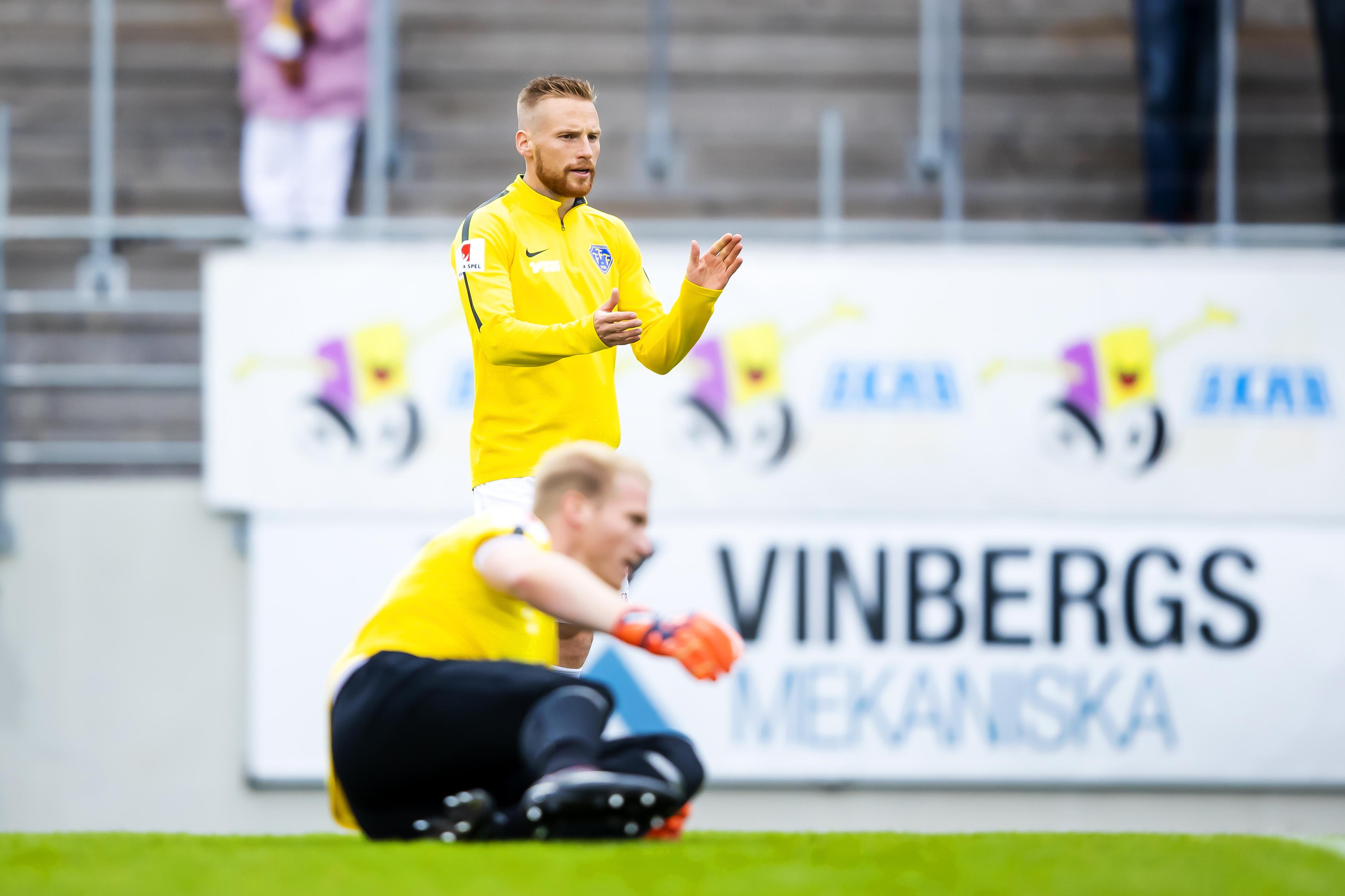 Inför träningsmatchen mot IFK Norrköping