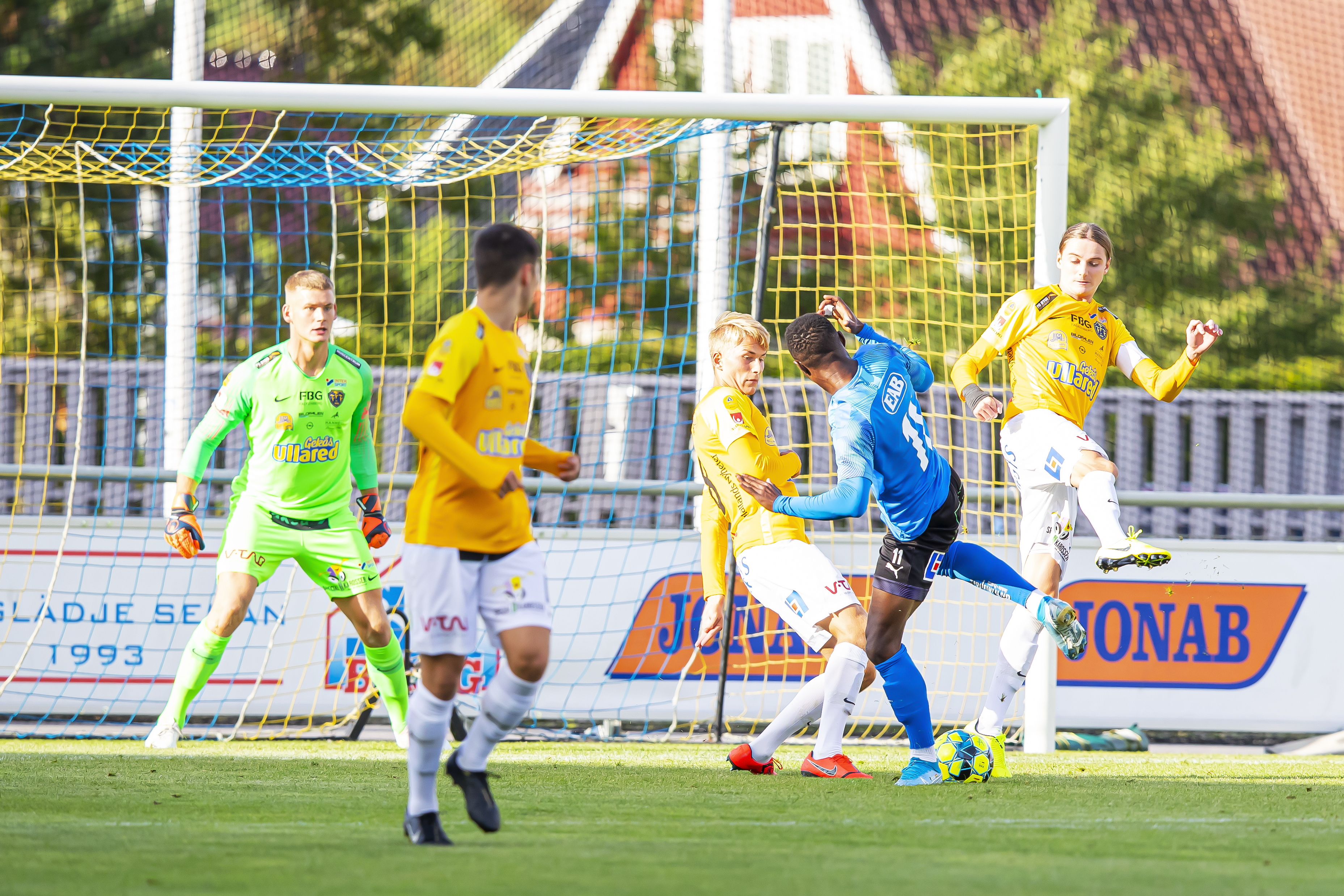 U21 kryssade mot Kalmar