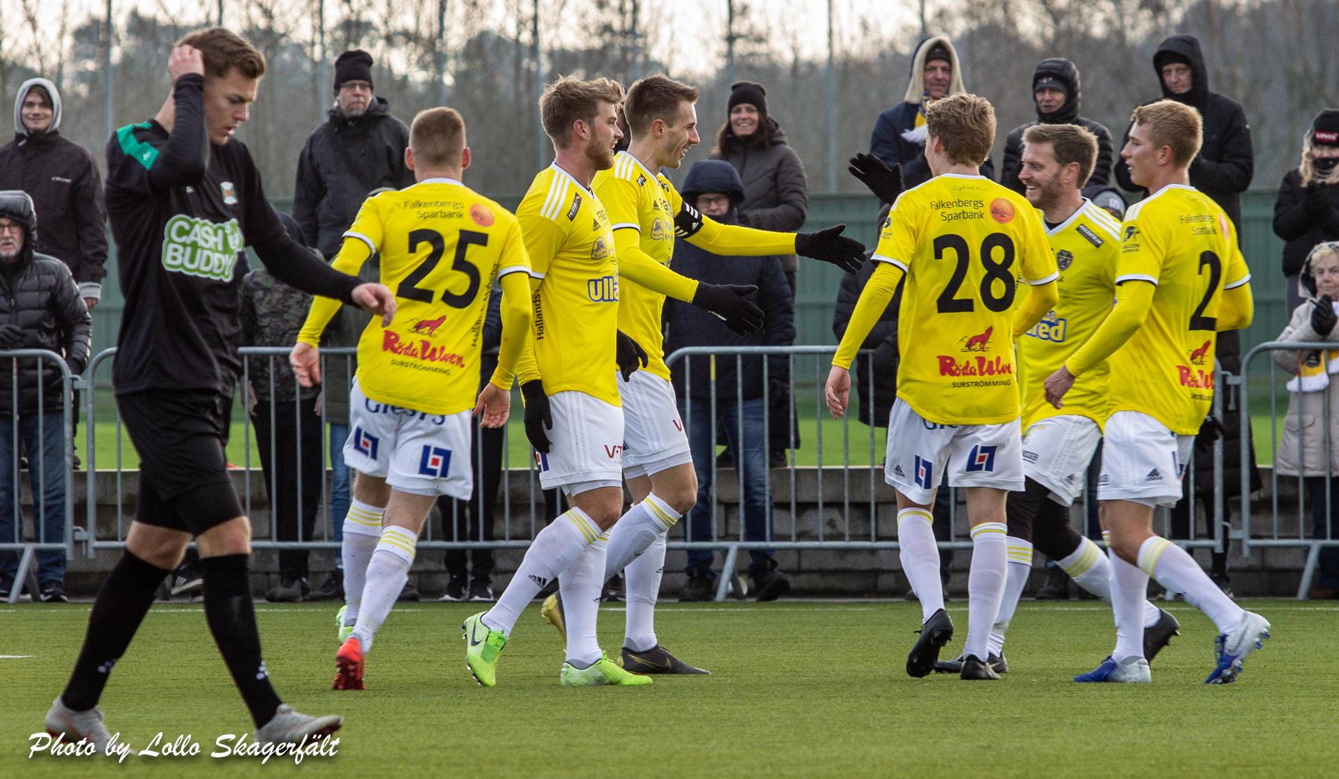 Seger med 4-1 mot Varbergs BoIS