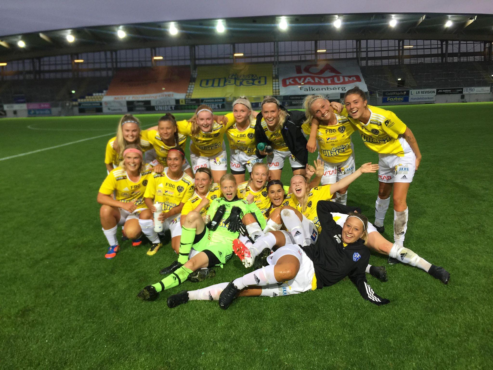 FFF:s damlag tog femte raka segern