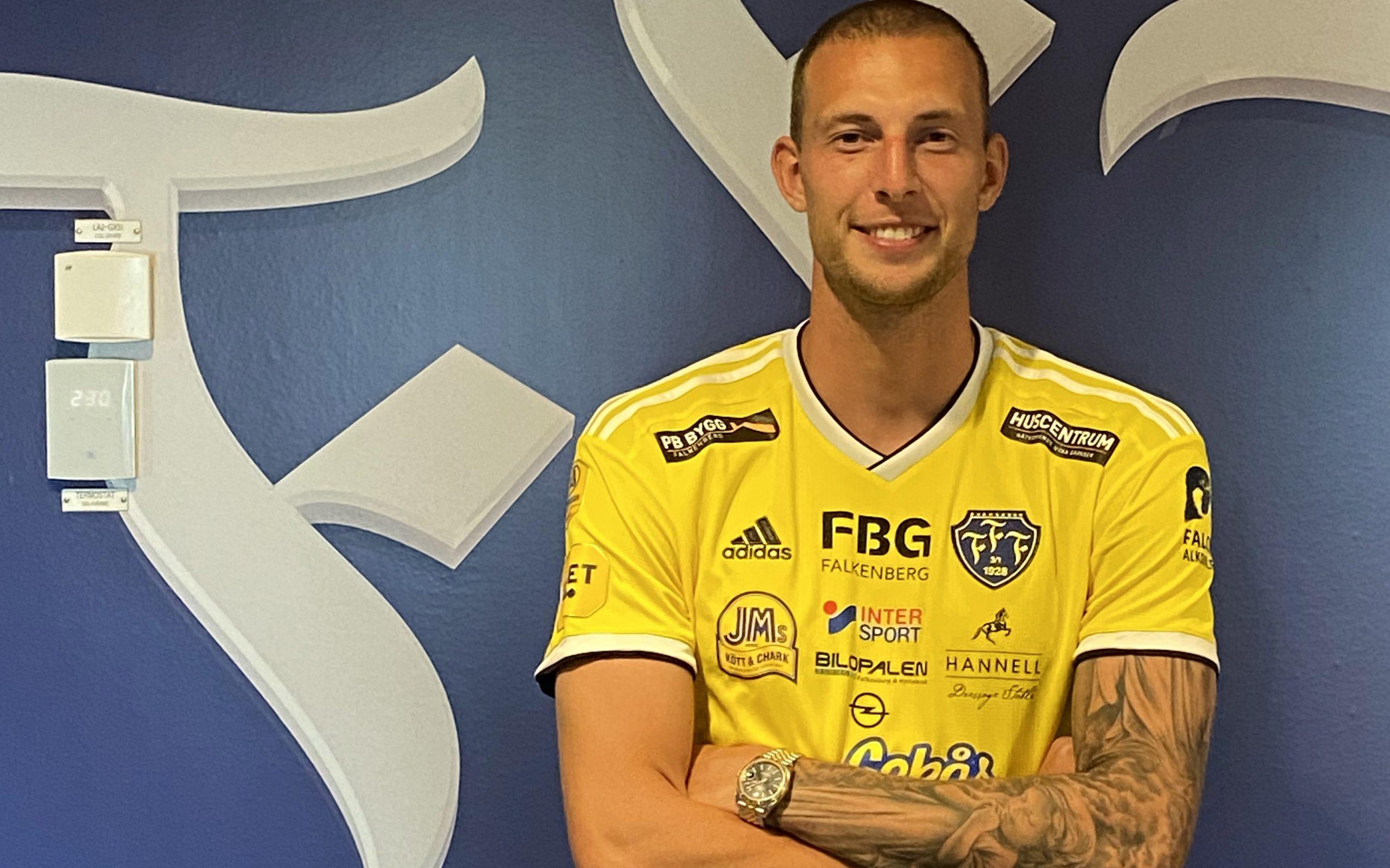 """Gustaf Nilsson klar för FFF: """"Det känns jättebra"""""""