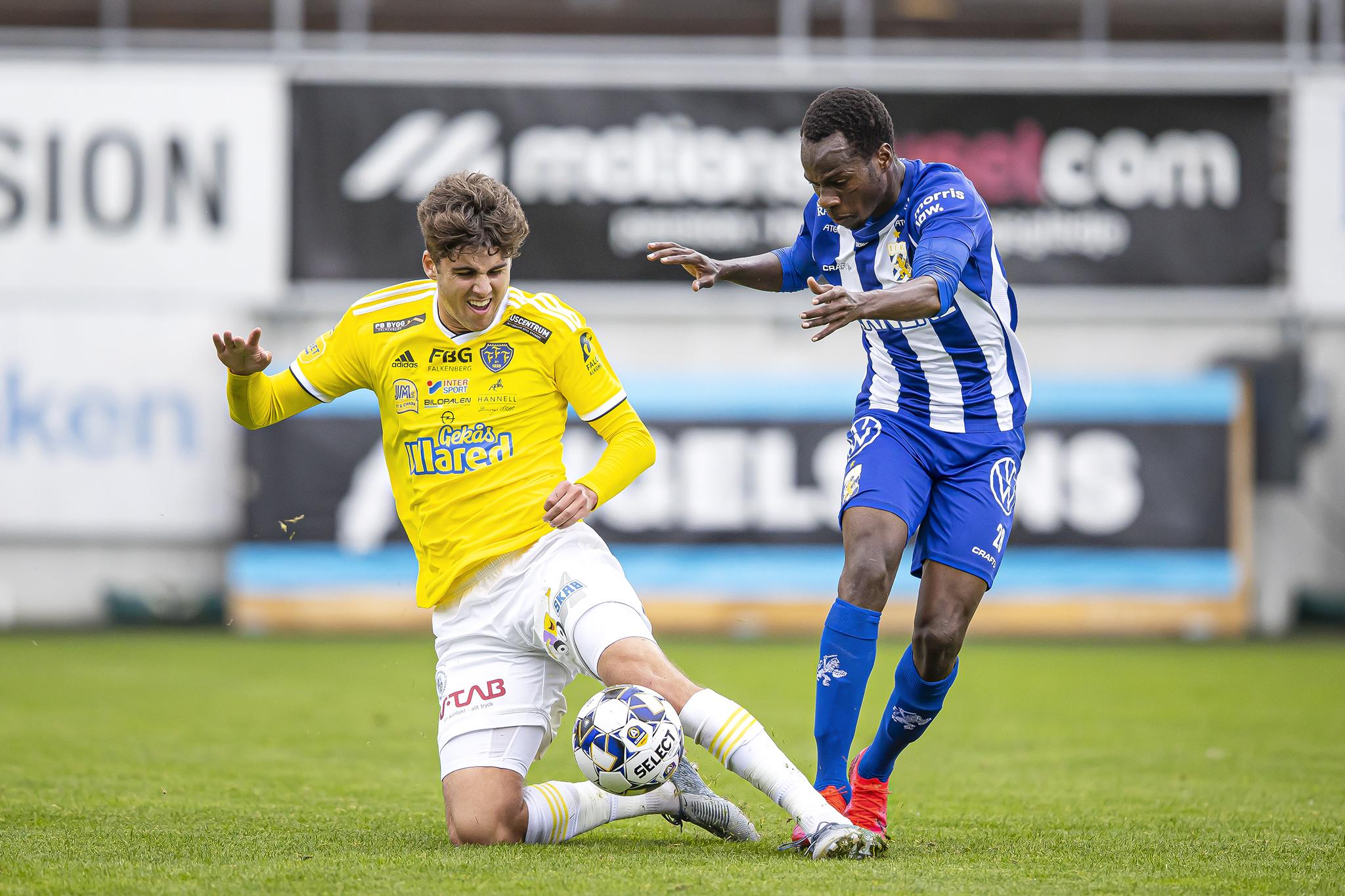Blytung förlust mot IFK Göteborg