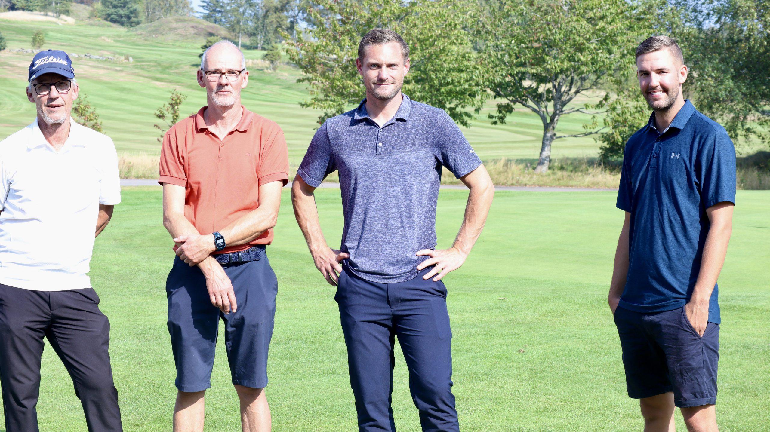 Trevlig golftävling med Nätverket på Vinbergs Golfklubb