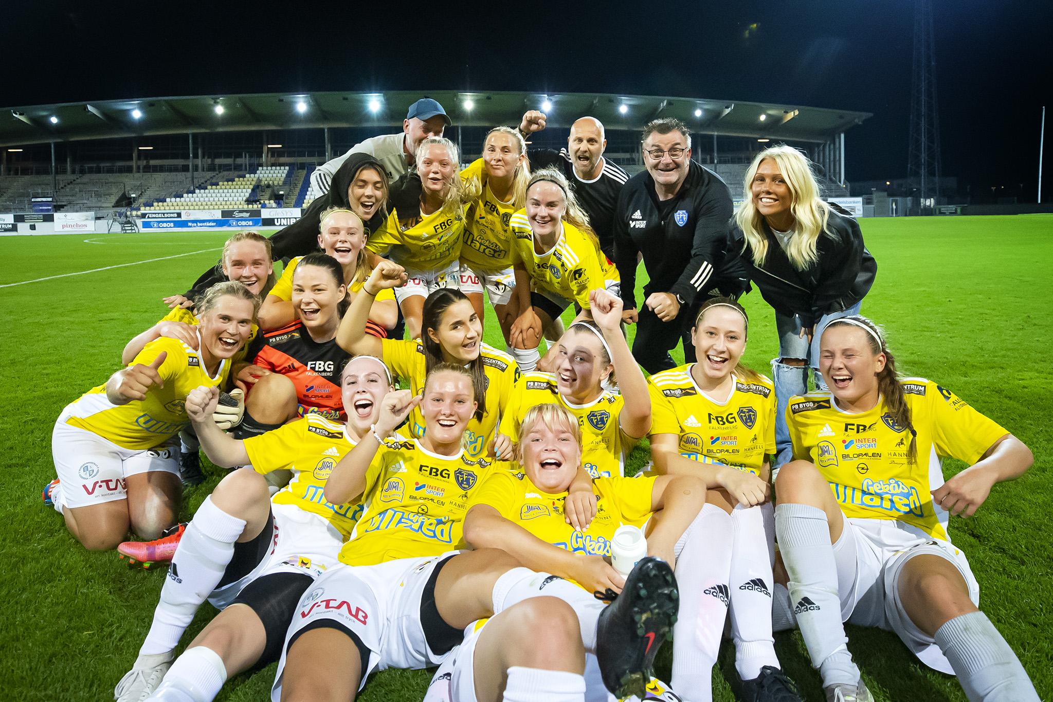 Underbar seger för damerna i toppmötet!